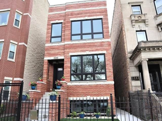 6241 S Woodlawn Avenue, Chicago, IL 60637 (MLS #10716592) :: Littlefield Group