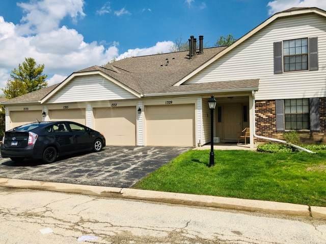 1329 Stratford Drive 10-B-2, Gurnee, IL 60031 (MLS #10717193) :: Suburban Life Realty