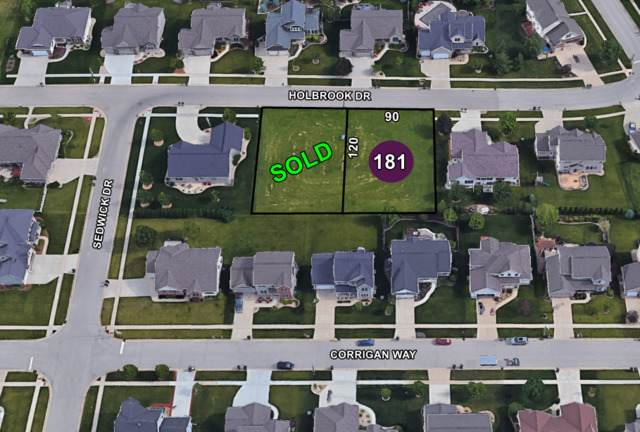 Lot 181 Holbrook Drive, Normal, IL 61761 (MLS #10719058) :: Property Consultants Realty