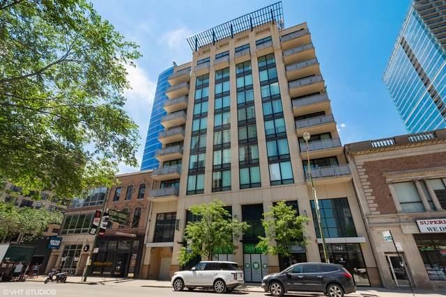 744 N Clark Street #801, Chicago, IL 60610 (MLS #10719220) :: Touchstone Group