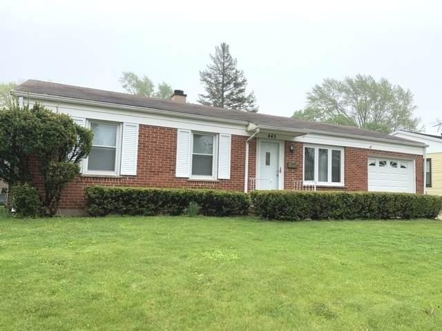 445 Gregg Lane, Buffalo Grove, IL 60089 (MLS #10719322) :: Littlefield Group