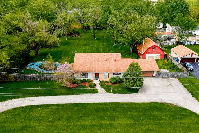 5710 W Monee Manhattan Road, Monee, IL 60449 (MLS #10720840) :: Property Consultants Realty