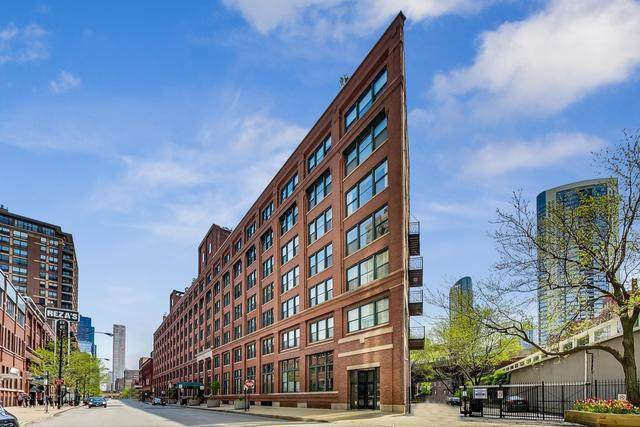 411 W Ontario Street #710, Chicago, IL 60654 (MLS #10722268) :: Property Consultants Realty