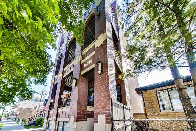3111 N California Avenue #2, Chicago, IL 60618 (MLS #10722575) :: Property Consultants Realty