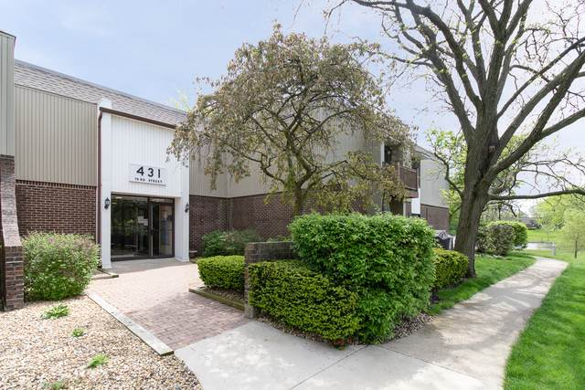 431 73rd Street #202, Downers Grove, IL 60516 (MLS #10722725) :: John Lyons Real Estate