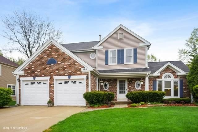 1585 Westbury Drive, Hoffman Estates, IL 60192 (MLS #10722926) :: Knott's Real Estate Team