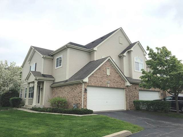 6075 Delaney Drive 20-1, Hoffman Estates, IL 60192 (MLS #10723014) :: Knott's Real Estate Team