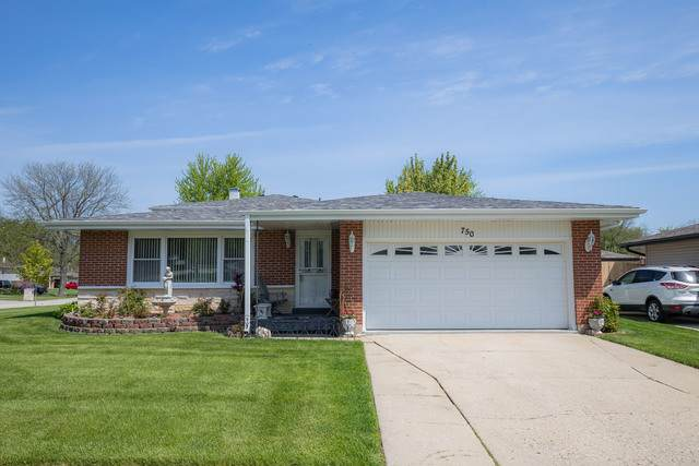 750 Evergreen Lane, Bartlett, IL 60103 (MLS #10723445) :: Knott's Real Estate Team