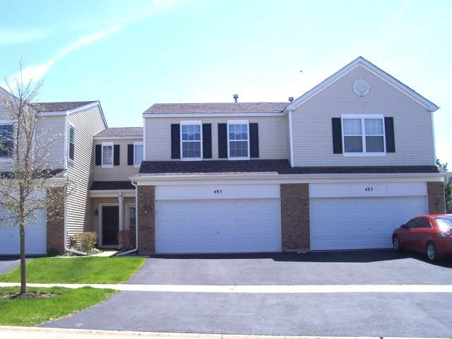 485 Brookside Drive #485, Oswego, IL 60543 (MLS #10723726) :: The Dena Furlow Team - Keller Williams Realty