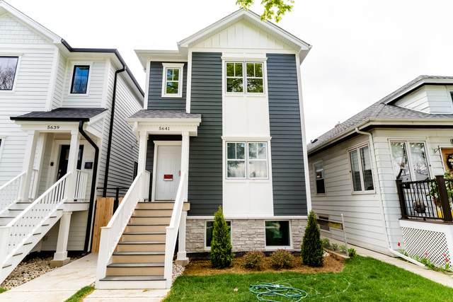 5641 W Giddings Street, Chicago, IL 60630 (MLS #10723922) :: Littlefield Group