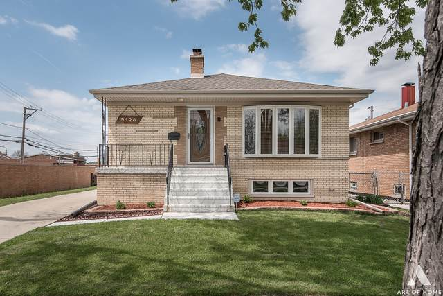 9428 Parkside Avenue, Oak Lawn, IL 60453 (MLS #10724028) :: The Wexler Group at Keller Williams Preferred Realty