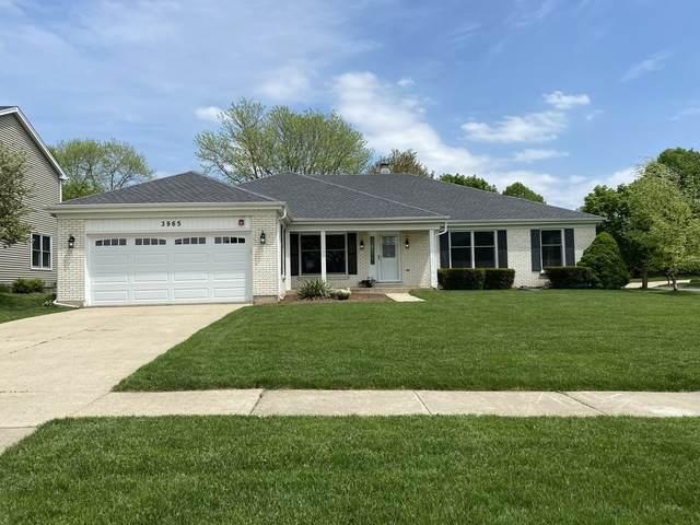 3965 Charlemagne Drive, Hoffman Estates, IL 60192 (MLS #10724035) :: Knott's Real Estate Team