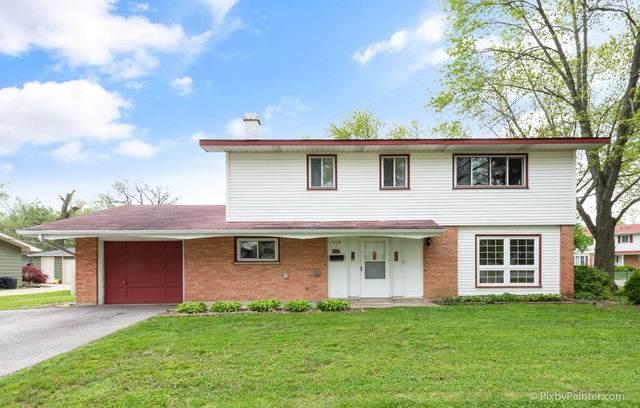 569 Hillcrest Boulevard, Hoffman Estates, IL 60169 (MLS #10724256) :: Knott's Real Estate Team