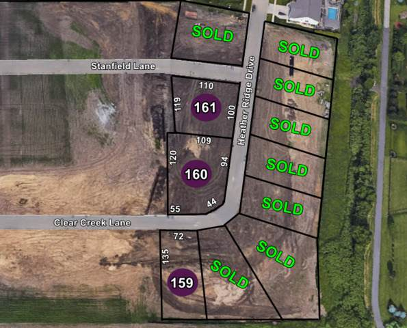 Lot 160 Clear Creek Lane, Normal, IL 61761 (MLS #10725167) :: The Wexler Group at Keller Williams Preferred Realty