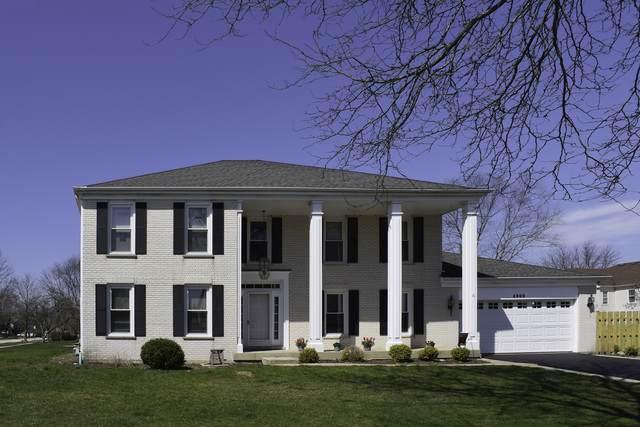 4900 Thornbark Drive, Hoffman Estates, IL 60010 (MLS #10726011) :: The Spaniak Team
