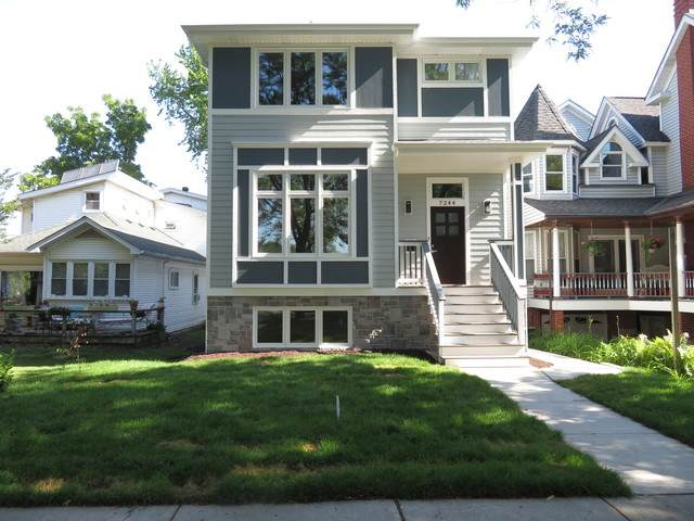 7244 W Everell Avenue, Chicago, IL 60631 (MLS #10726740) :: Littlefield Group