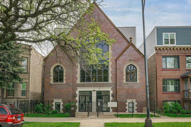 1847 N Kedzie Avenue 2S, Chicago, IL 60647 (MLS #10726820) :: Touchstone Group