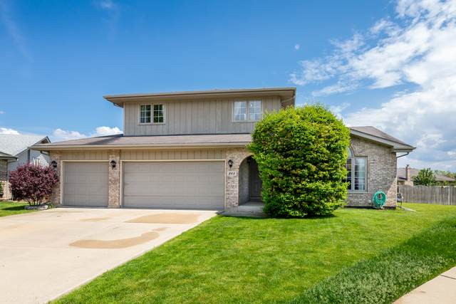 345 Quincy Court, Romeoville, IL 60446 (MLS #10726857) :: Angela Walker Homes Real Estate Group