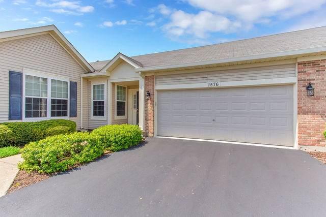 1576 W Ludington Circle #0, Romeoville, IL 60446 (MLS #10727235) :: Angela Walker Homes Real Estate Group