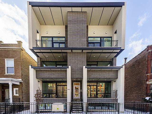 1753 N Kedzie Avenue #2, Chicago, IL 60647 (MLS #10728478) :: The Wexler Group at Keller Williams Preferred Realty