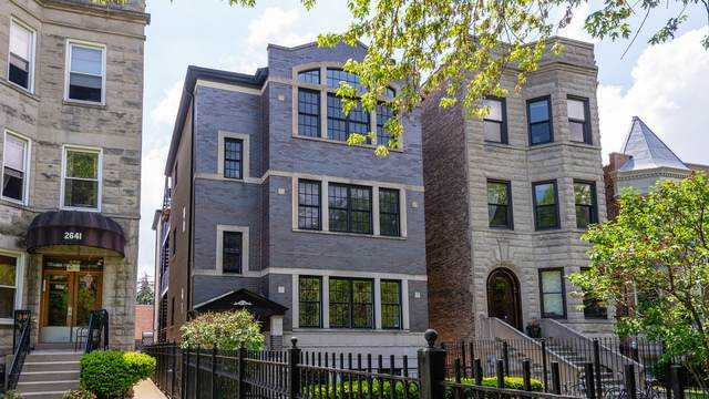 2643 W Logan Boulevard #1, Chicago, IL 60647 (MLS #10729110) :: Property Consultants Realty