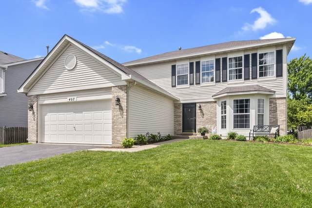 407 Melissa Circle, Romeoville, IL 60446 (MLS #10729645) :: Angela Walker Homes Real Estate Group