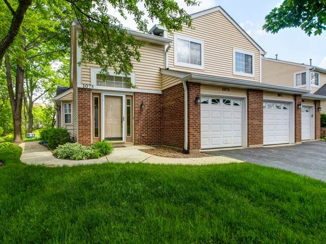 107 Winchester Drive 1B-2, Streamwood, IL 60107 (MLS #10729687) :: Property Consultants Realty