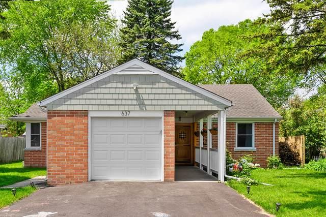 637 Hibbard Road, Wilmette, IL 60091 (MLS #10729748) :: Helen Oliveri Real Estate