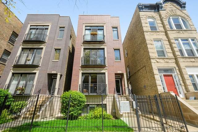 2021 N Mozart Street #2, Chicago, IL 60647 (MLS #10730362) :: Property Consultants Realty