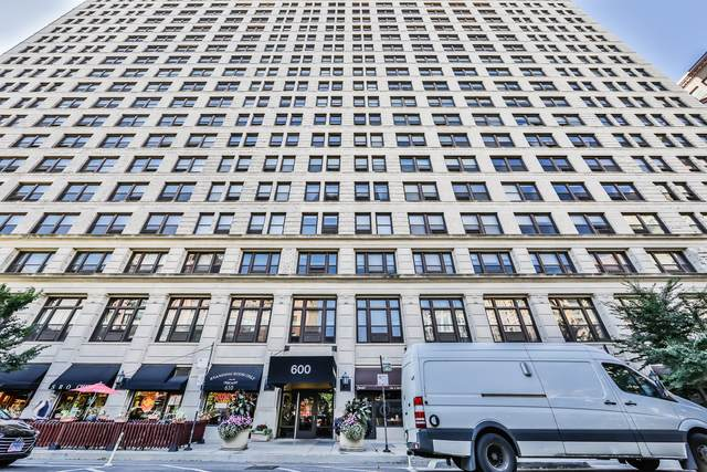 600 S Dearborn Street #710, Chicago, IL 60605 (MLS #10730687) :: Property Consultants Realty