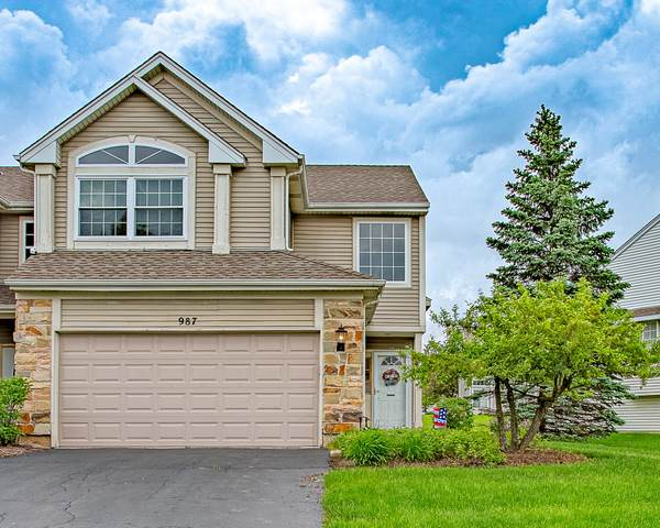987 Viewpoint Drive #987, Lake In The Hills, IL 60156 (MLS #10730697) :: Lewke Partners