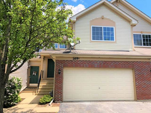 169 Southwicke Drive B, Streamwood, IL 60107 (MLS #10730709) :: Property Consultants Realty