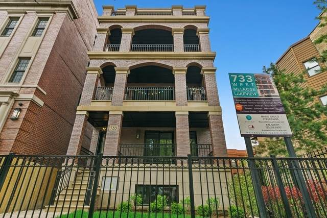 733 W Melrose Street #1, Chicago, IL 60657 (MLS #10731000) :: Property Consultants Realty