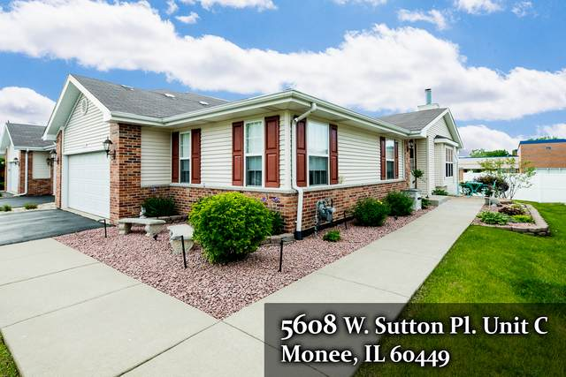 5608 W Sutton Place C, Monee, IL 60449 (MLS #10733420) :: John Lyons Real Estate