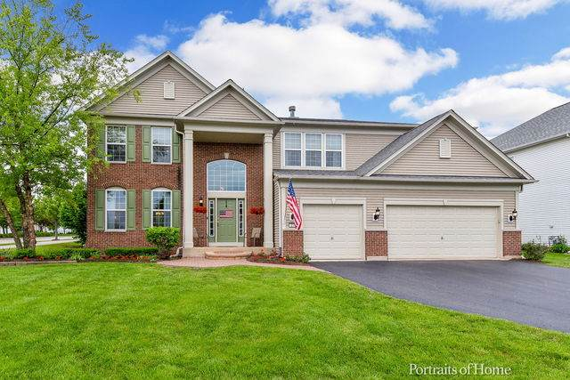217 Bennett Court N, Oswego, IL 60543 (MLS #10733846) :: O'Neil Property Group