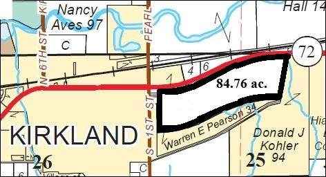 84 Acres Hwy 72, Kirkland, IL 60146 (MLS #10734326) :: Property Consultants Realty