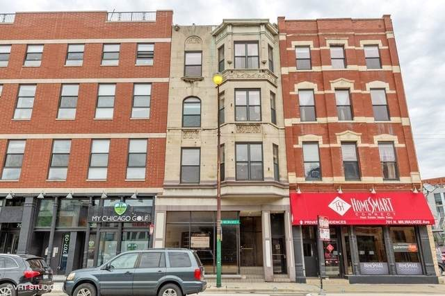 705 N Milwaukee Avenue 3F, Chicago, IL 60622 (MLS #10735821) :: Ryan Dallas Real Estate