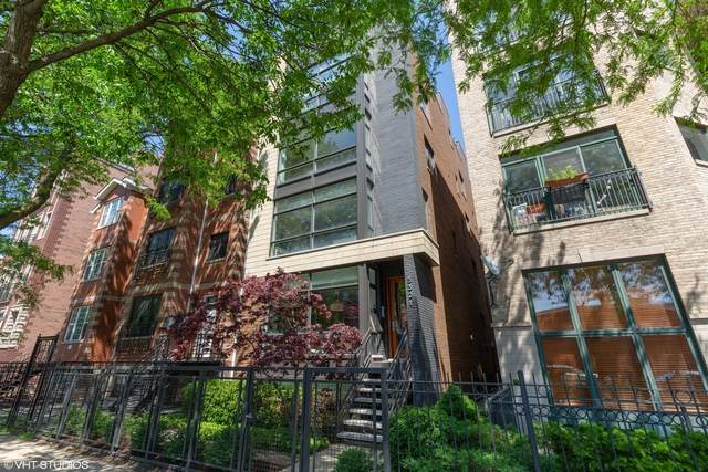 3321 N Sheffield Avenue #2, Chicago, IL 60657 (MLS #10735904) :: Ryan Dallas Real Estate