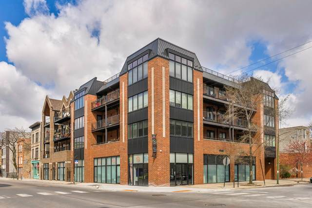 1600 N Bell Avenue 4C, Chicago, IL 60647 (MLS #10737251) :: Property Consultants Realty