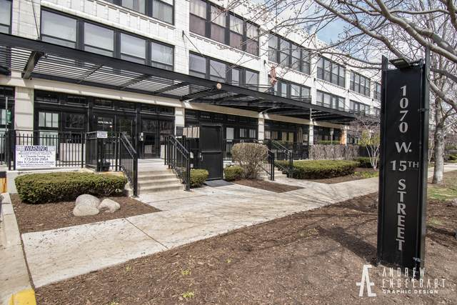 1070 W 15TH Street #109, Chicago, IL 60608 (MLS #10737939) :: Property Consultants Realty