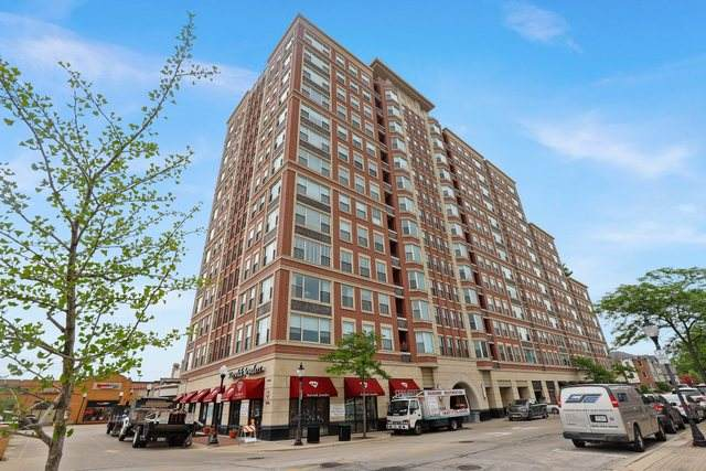 77 S Evergreen Avenue #704, Arlington Heights, IL 60005 (MLS #10739940) :: Property Consultants Realty