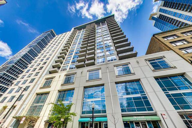 1305 S Michigan Avenue #602, Chicago, IL 60605 (MLS #10740212) :: Property Consultants Realty