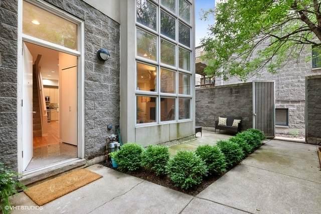 925 N Willard Court 3E, Chicago, IL 60642 (MLS #10743562) :: John Lyons Real Estate