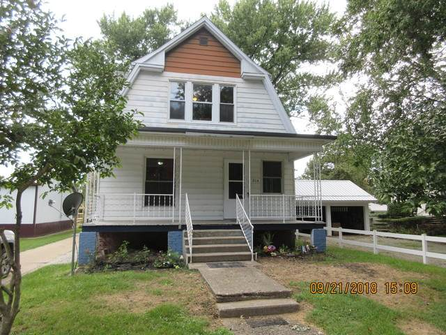 216 West Street, Hume, IL 61932 (MLS #10746784) :: John Lyons Real Estate