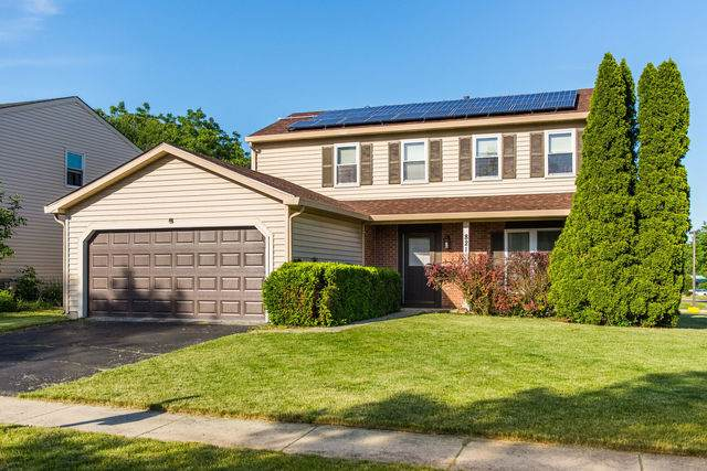 821 Huron Court, Carol Stream, IL 60188 (MLS #10749571) :: The Wexler Group at Keller Williams Preferred Realty