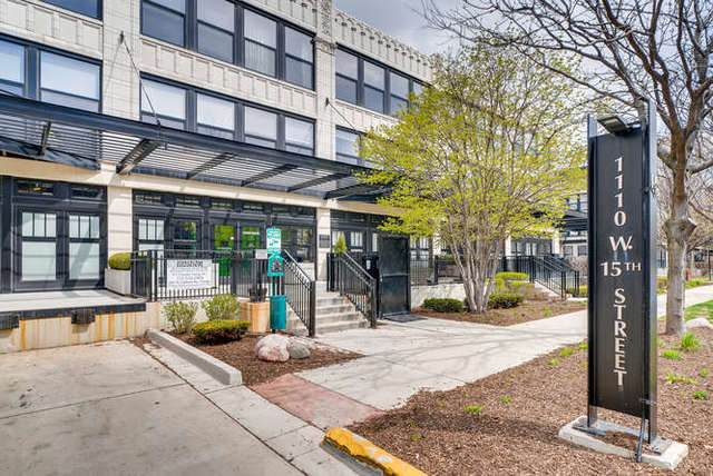 1110 W 15th Street #329, Chicago, IL 60608 (MLS #10752950) :: Property Consultants Realty