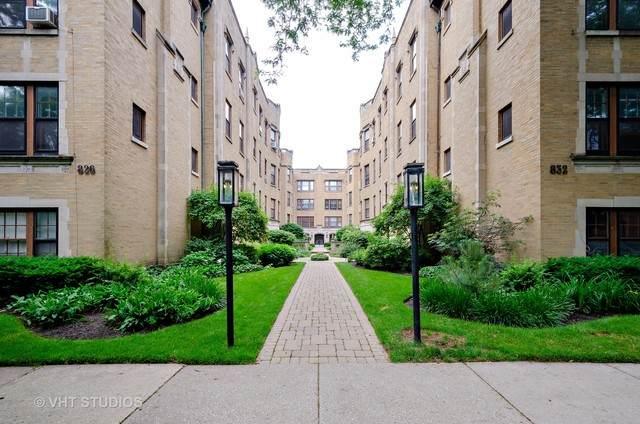 832 Michigan Avenue G1, Evanston, IL 60202 (MLS #10753535) :: Janet Jurich