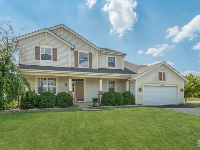 654 Vista Drive, Oswego, IL 60543 (MLS #10754431) :: Helen Oliveri Real Estate