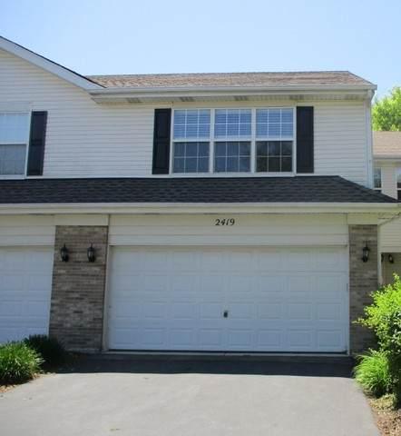 2419 Stoughton Circle, Aurora, IL 60502 (MLS #10755872) :: Angela Walker Homes Real Estate Group