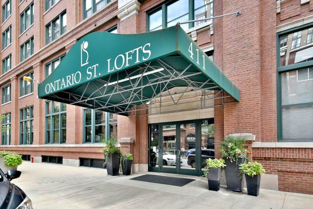411 W Ontario Street #408, Chicago, IL 60654 (MLS #10760915) :: Property Consultants Realty
